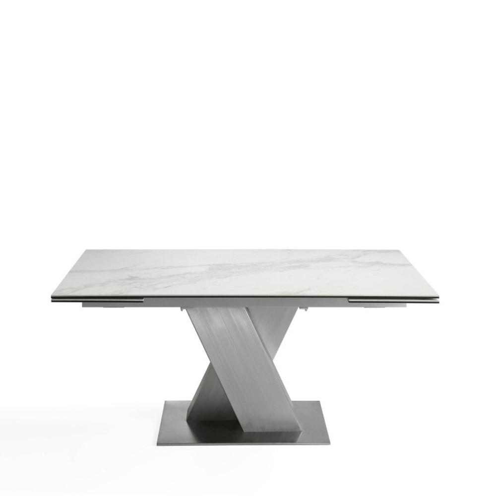 Biely jedálenský stôl Ángel Cerdá King