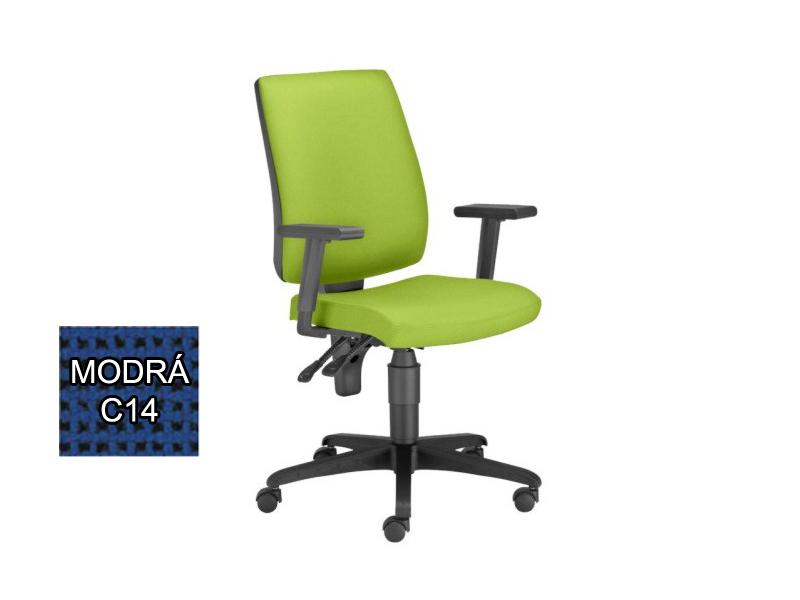 Kancelárska stolička Taktik (modrá) *výpredaj