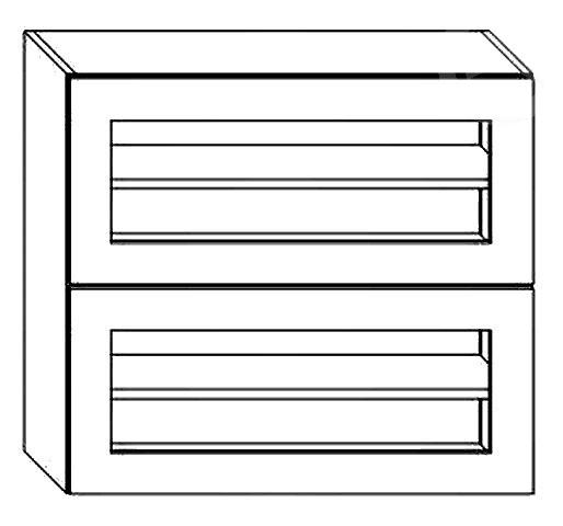 BIANCA dvojvýklopná skrinka WS80GRF2