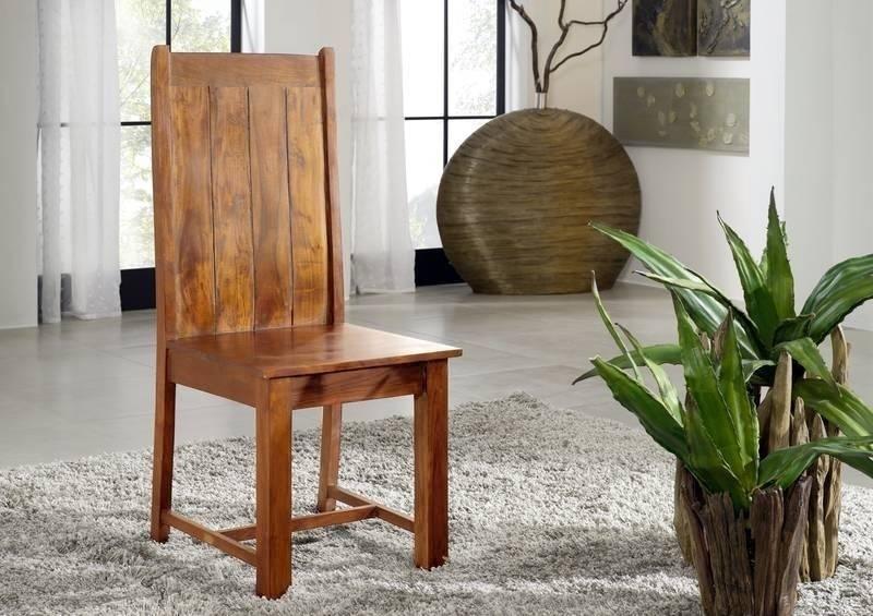 OXFORD HONIG jedálenská stolička MAMUT #0611 masívny agát