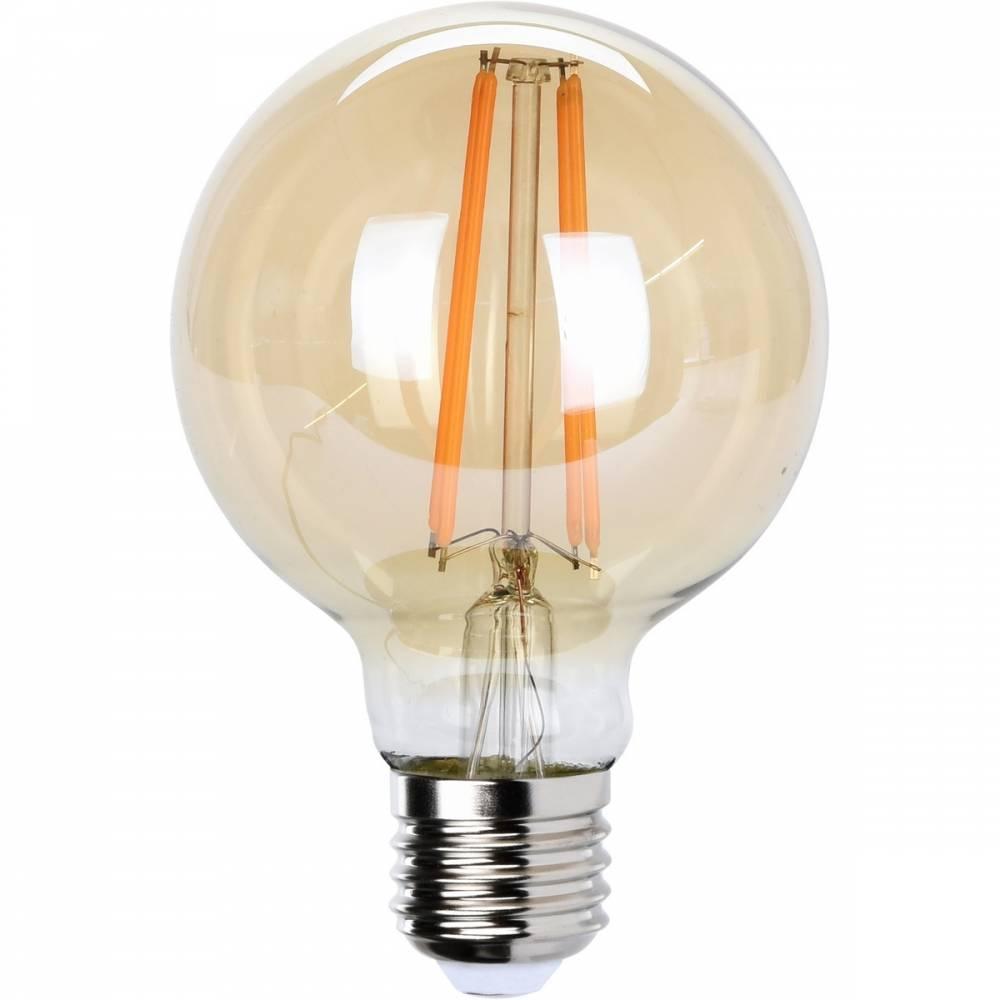 Koopman LED Žiarovka s uhlíkovým vláknom E27, 12 cm