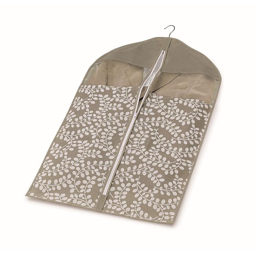 Hnedý vak na oblečenie Cosatto Floral, 100 cm
