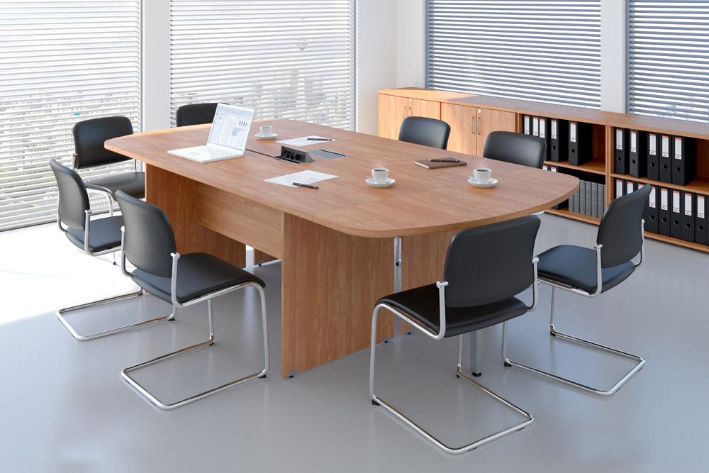Rauman Zostava kancelárskeho nábytku Visio 8 calvados R111008 03