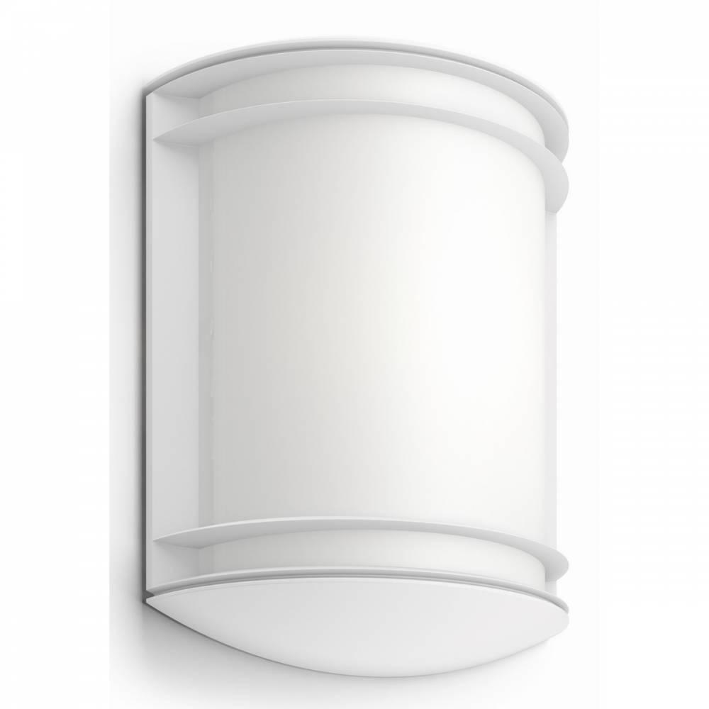 Philips 17320/31/P3 Antelope Vonkajšie nástenné LED svietidlo 28 cm, biela