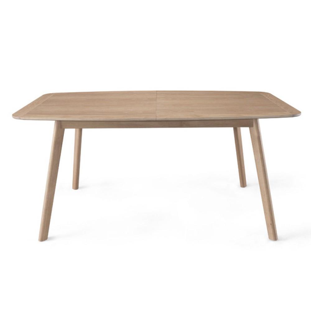 Rozkládací jedálenský stôl z dubového dreva Wewood - Portugues Joinery Azores, dĺžka 200 - 270 cm