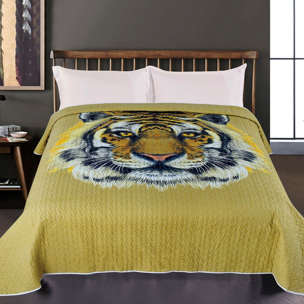 JAHU Prehoz na posteľ Tiger, 140 x 220 cm