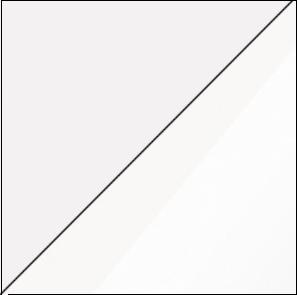 Šatníková skriňa STELLA 05   Farba: Biela / biely lesk