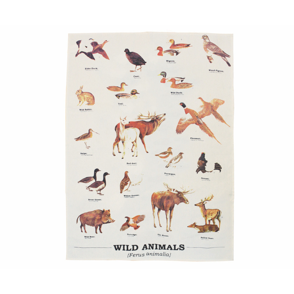 Utierka Gift Republic Wild Animals Multi