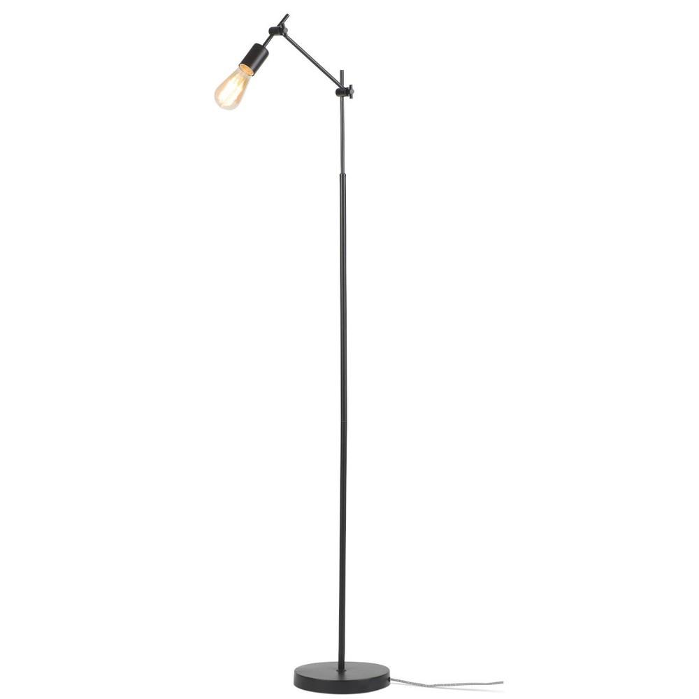 Čierna stojacia lampa Citylights Sheffield