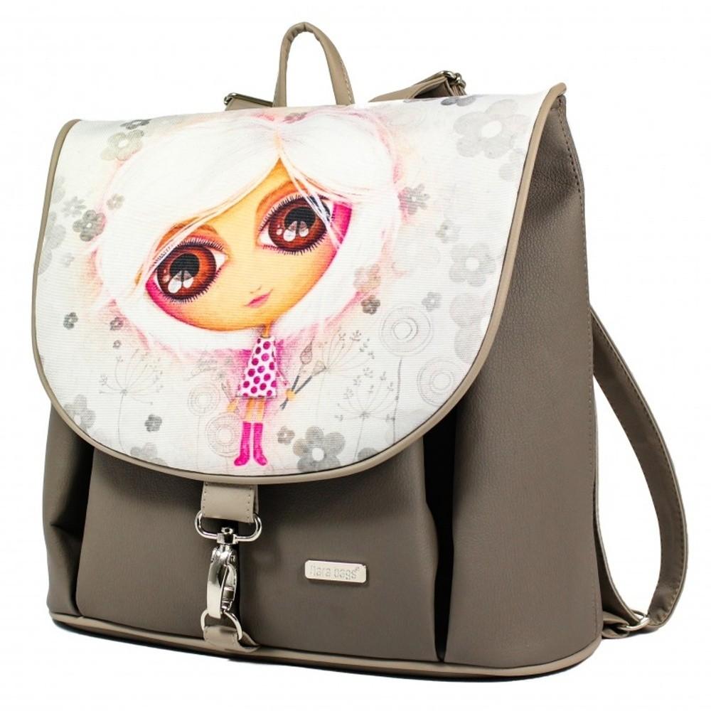 Béžový batoh Dara bags CityLife No.182