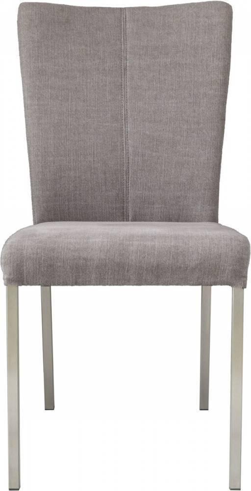 Jedálenská stolička TIVOLI - hnedosivá