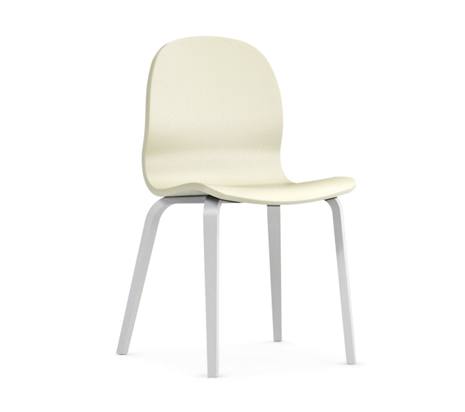 Jedálenská stolička Possi krémová   Farba: krémová/biela