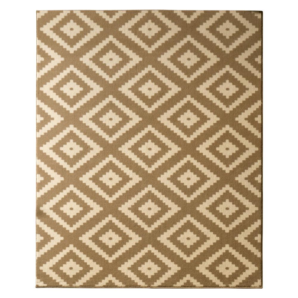 Béžový koberec Hanse Home Hamleti Diamond, 80x300cm