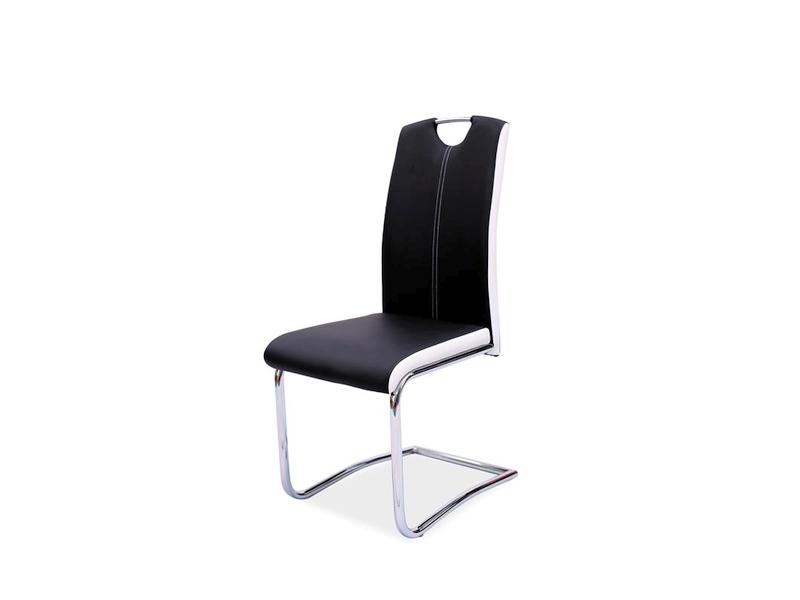 HK-341 jedálenská stolička, čierna