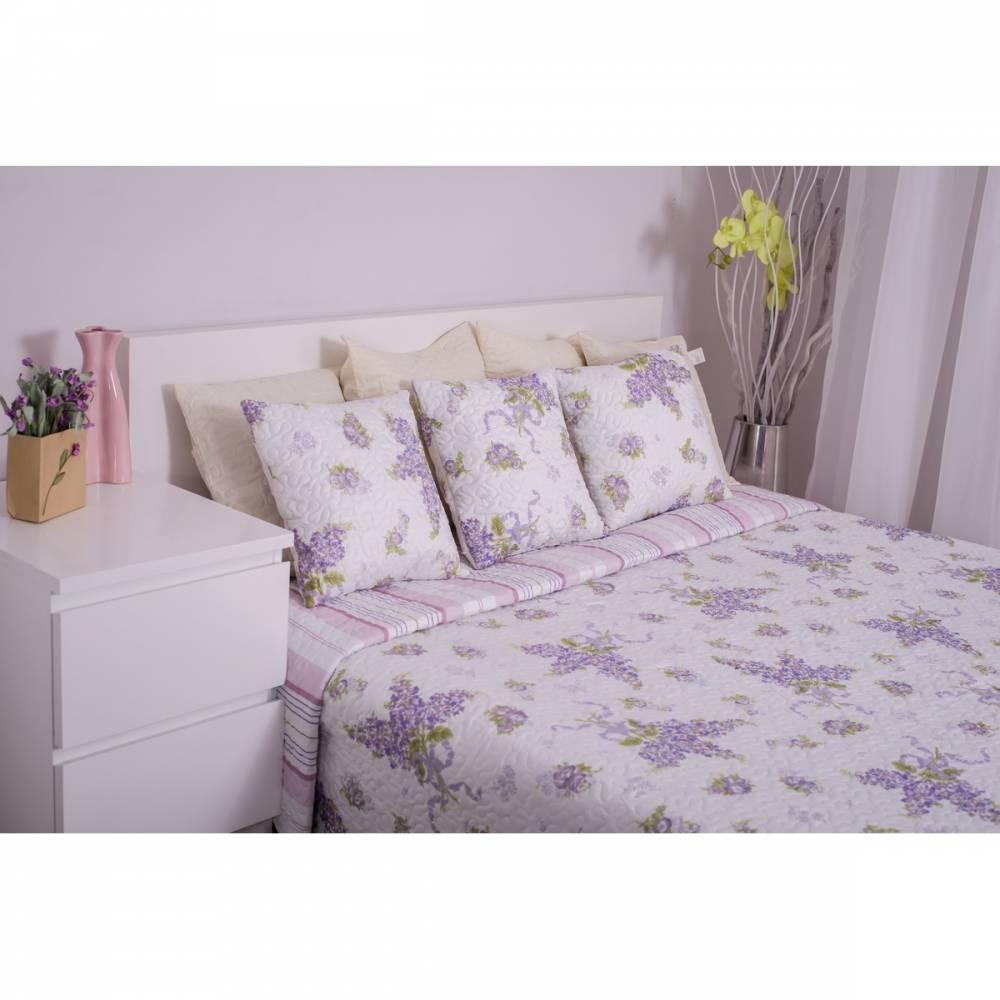 Domarex Prehoz na posteľ Levanduľová záhrada, 220 x 240 cm