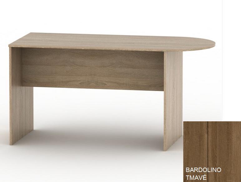 Kancelársky stôl TEMPO ASISTENT NEW 022   Farba: Bardolino tmavé