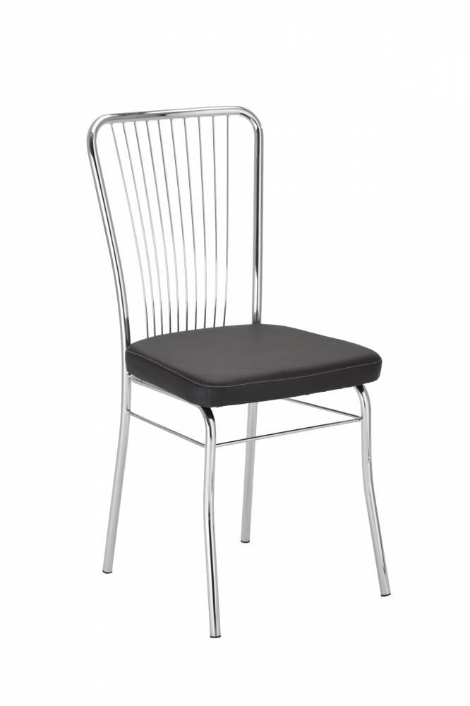 Jedálenská stolička Neron II (čierna)