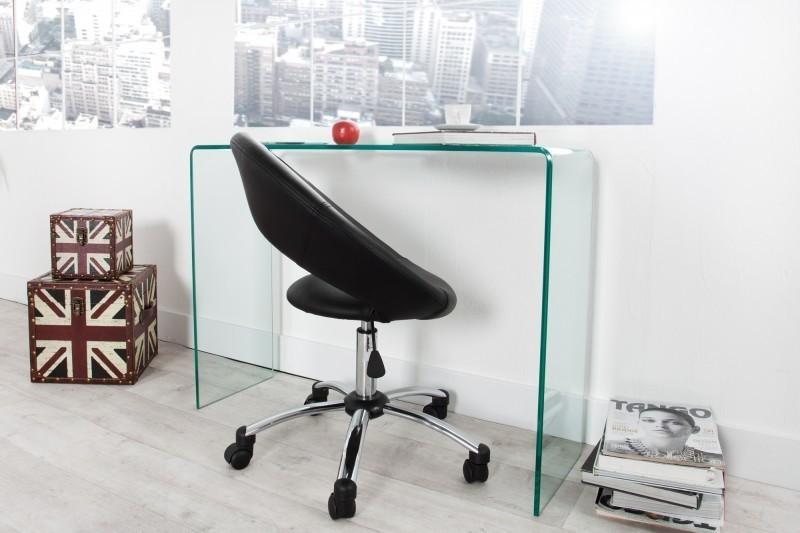 Písací stôl HOSST 100 cm - číra