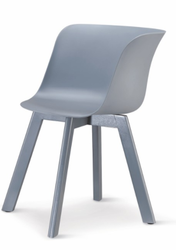 Stolička Levin   Farba: Sivá / sivá