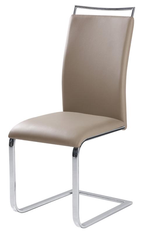 Jedálenská stolička HK-334, tmavobéžová