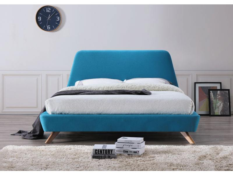 GRANT čalúnená posteľ, tyrkysová