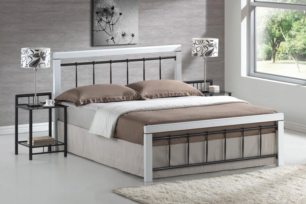 Manželská posteľ 160 cm Berlin (s roštom)