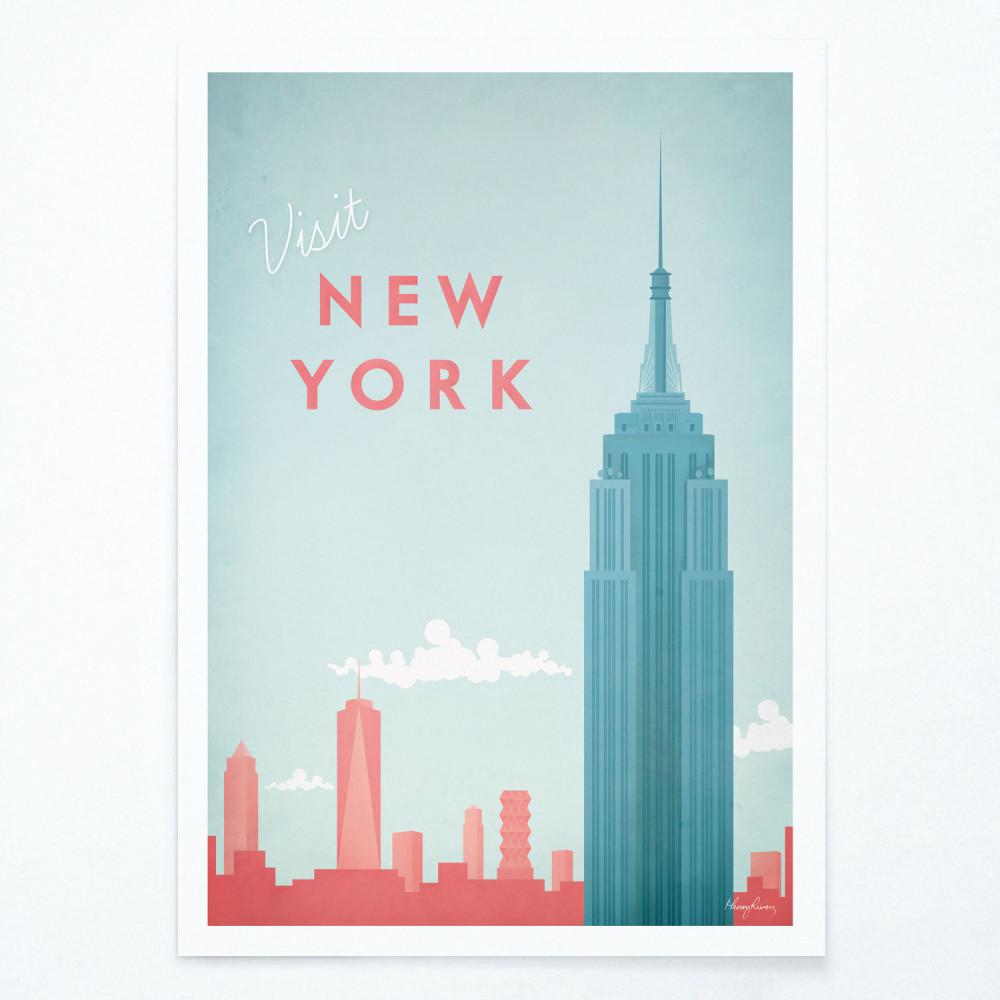 Plagát Travelposter New York, A2