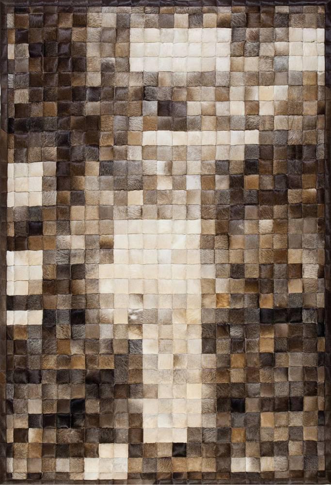 Papilio Koberec Witek kožený jam craft 1110 hnedý 160x230cm