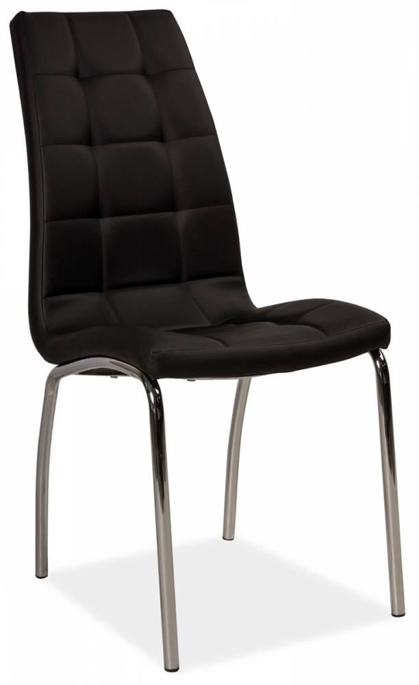 Jedálenská stolička HK-104, čierna