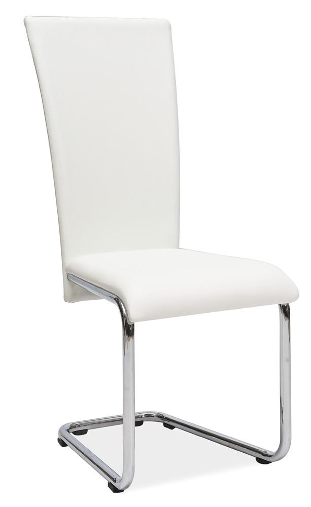 Jedálenská stolička H-224 biela