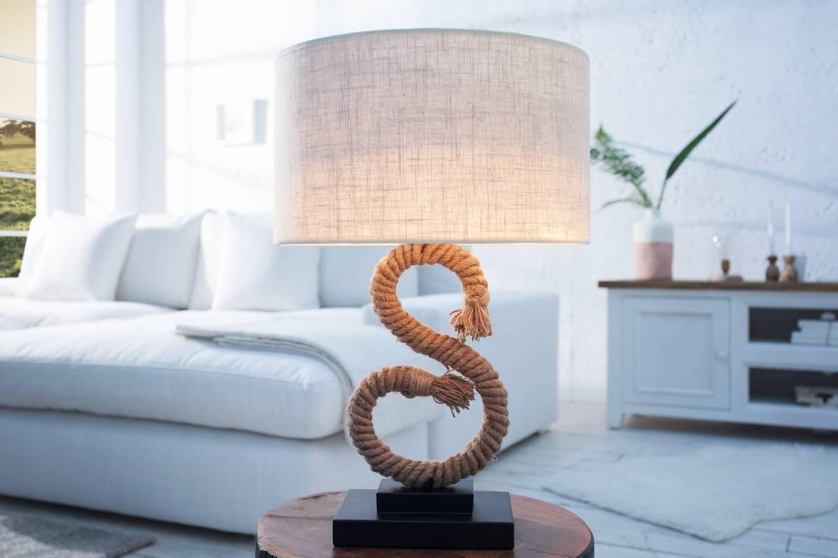 Stolová lampa SEASS 50 cm - hnedá