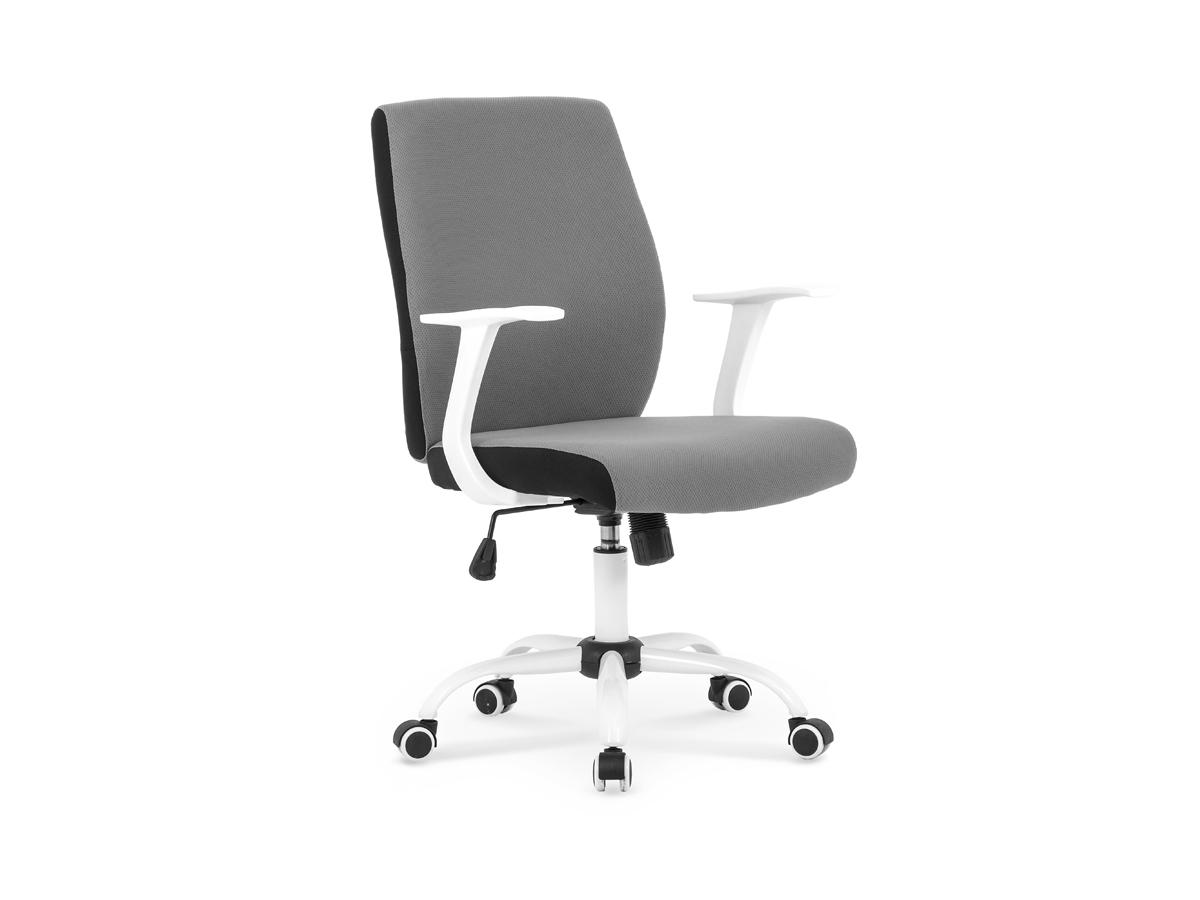 Kancelárska stolička Combo (sivá + čierna)