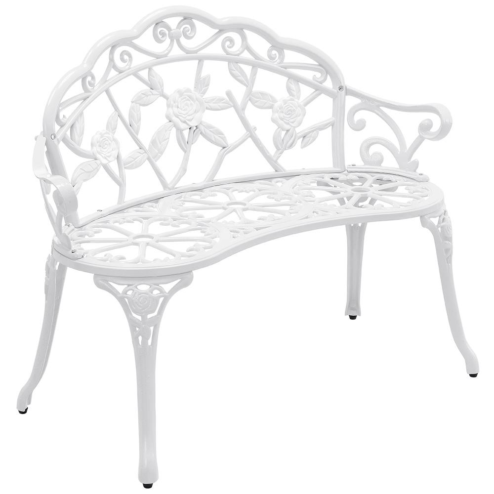 [casa.pro]® Liatinová záhradná lavica HTXG-0204