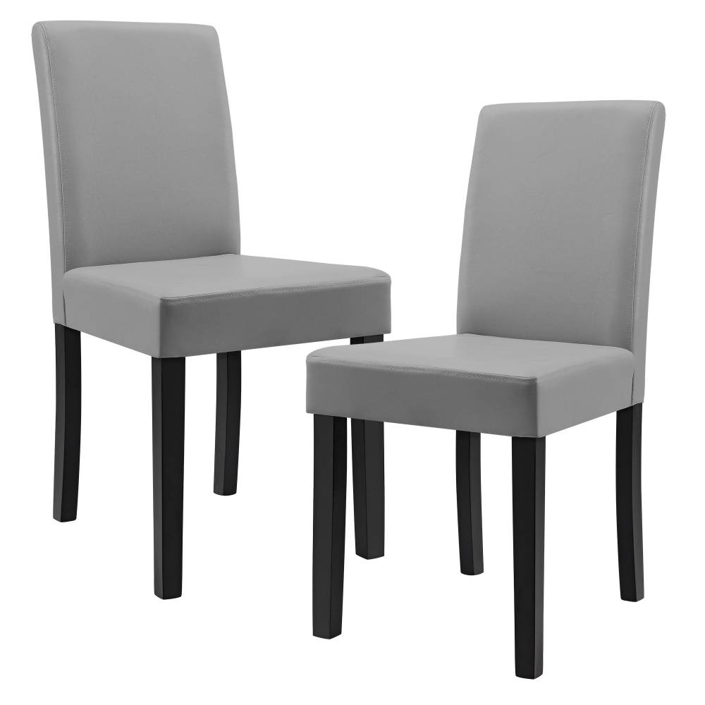 0eca3ef1c63c8 [en.casa]®Dizajnové čalúnené stoličky - 2 kusová sada - svetlo sivé