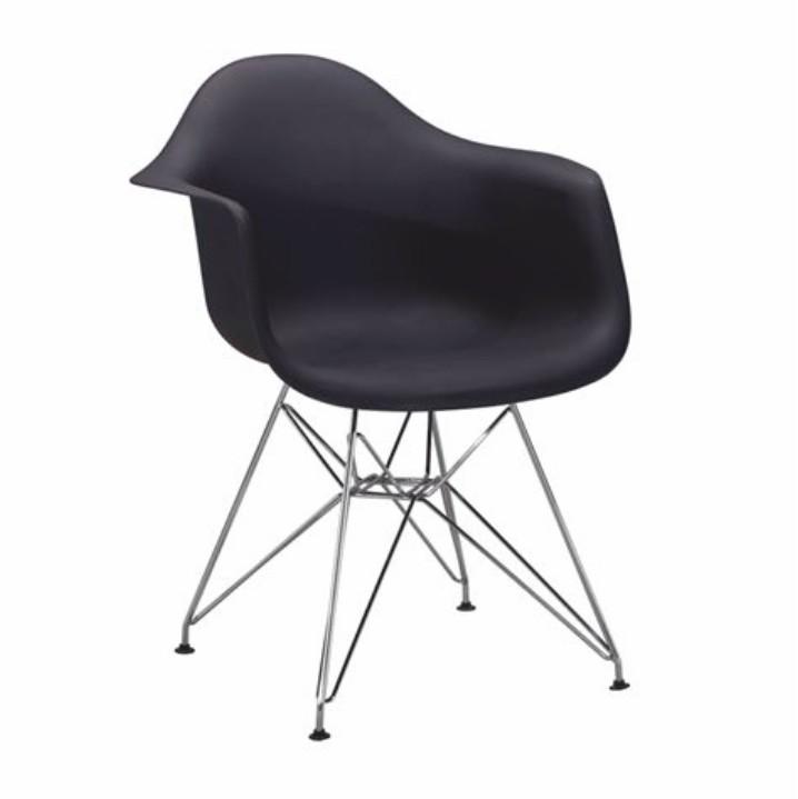 Jedálenská stolička Feman new (čierna)