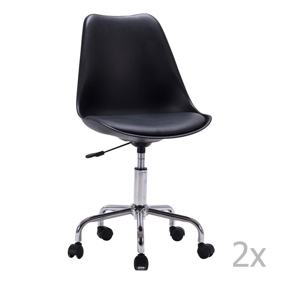 Sada 2 kancelárskych stoličiek House Nordic