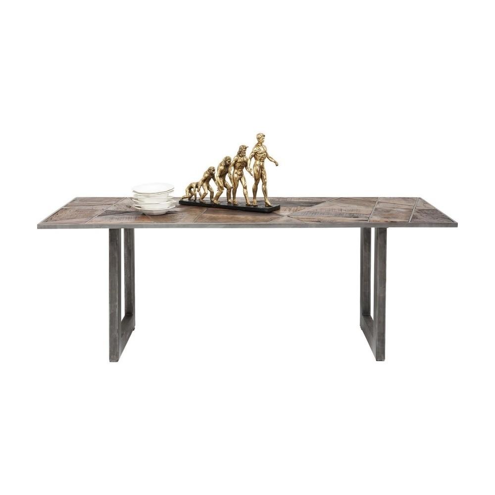 Jedálenský stôl s doskou z recyklovaného dreva Kare Design Storm, 200 × 90 cm