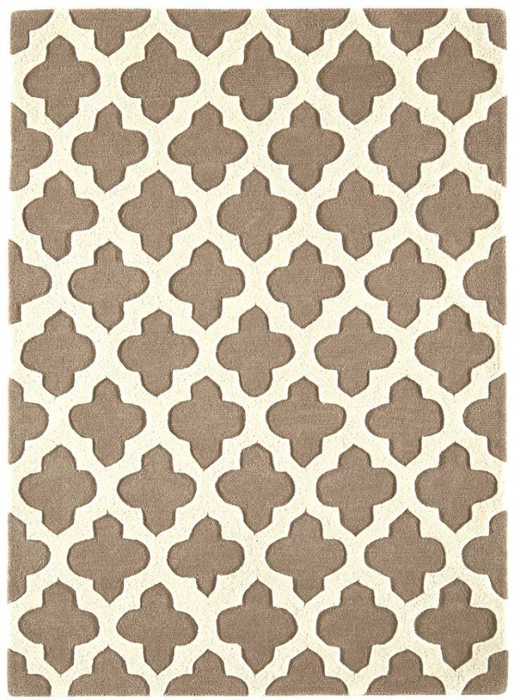 Artisan koberec - sivobéžová 01