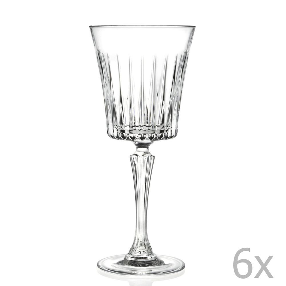 Sada 6 pohárov na sekt RCR Cristalleria Italiana Bice