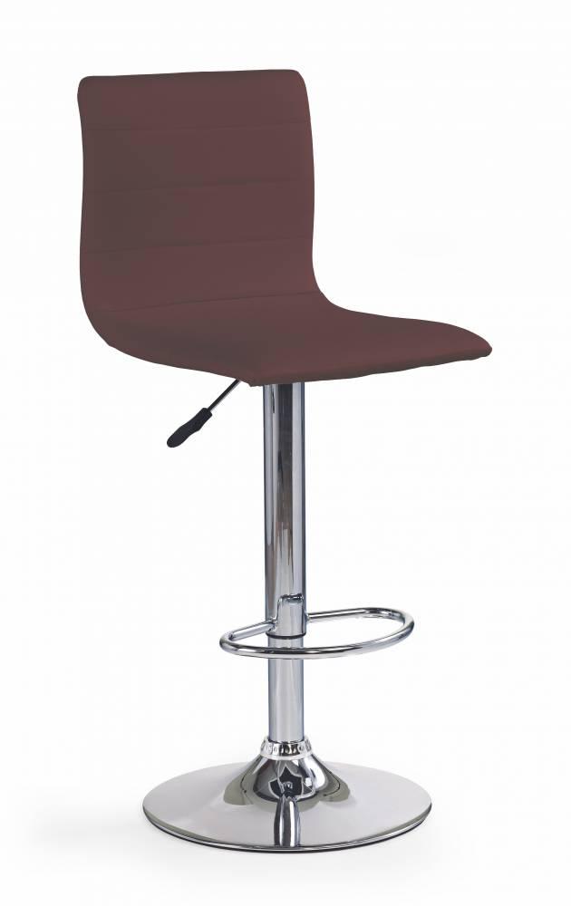 Barová stolička H-21 (hnedá)