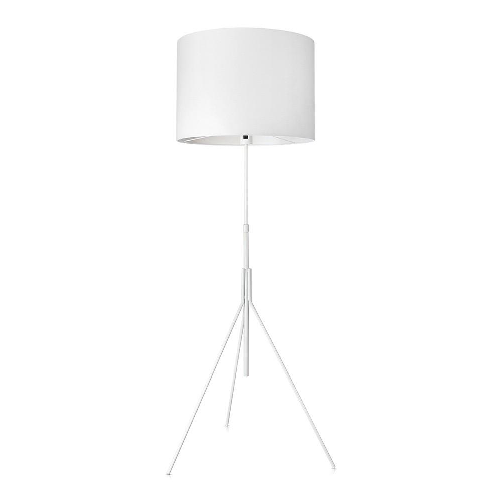Biela stojacia lampa Markslöjd Sling