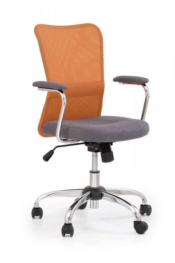 Kancelárska stolička Andy pomarančová