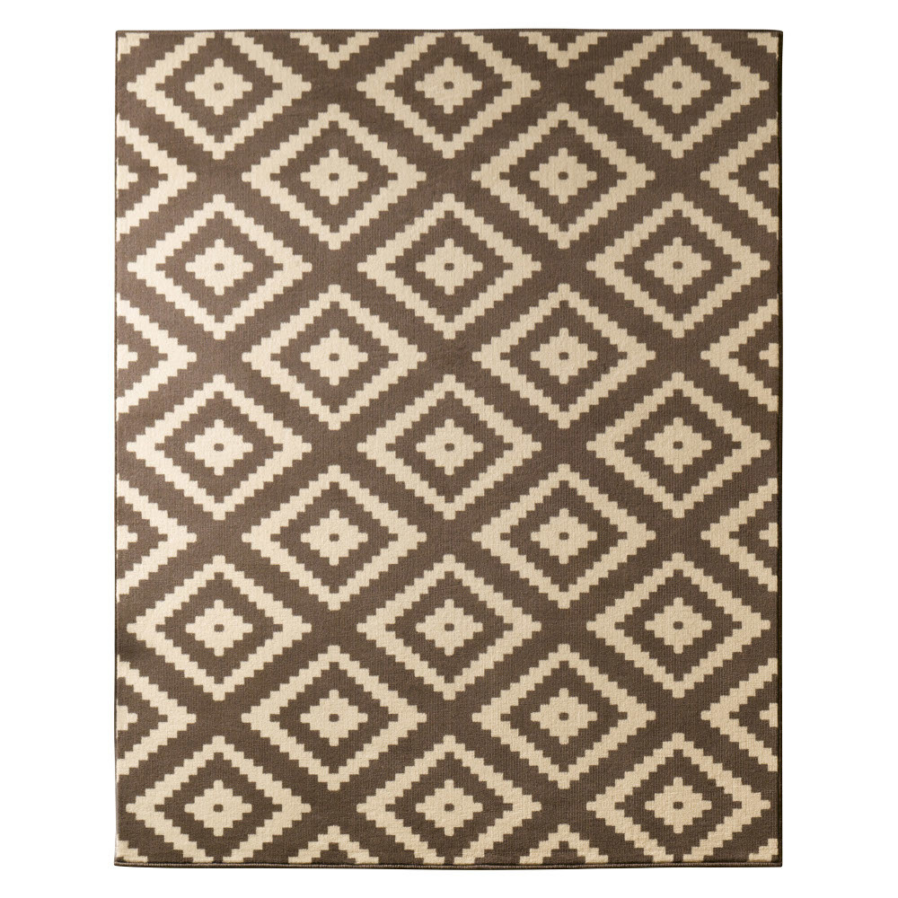 Hnedý koberec Hanse Home Hamleti Diamond Brown, 160x230cm