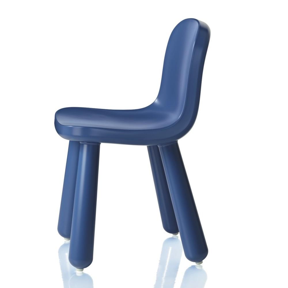 Modrá stolička Magis Still