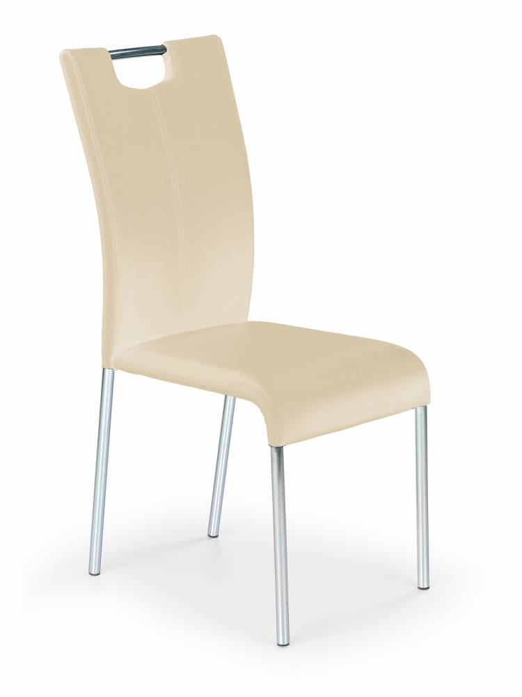 Jedálenská stolička K138 tmavokrémová