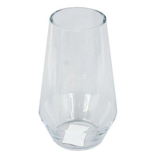 Sklenená váza Reillon číra, 25 cm