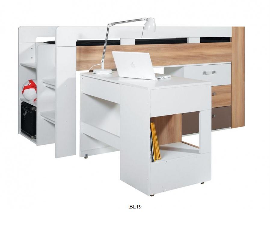 Posteľ s písacím stolom Blog / BL19