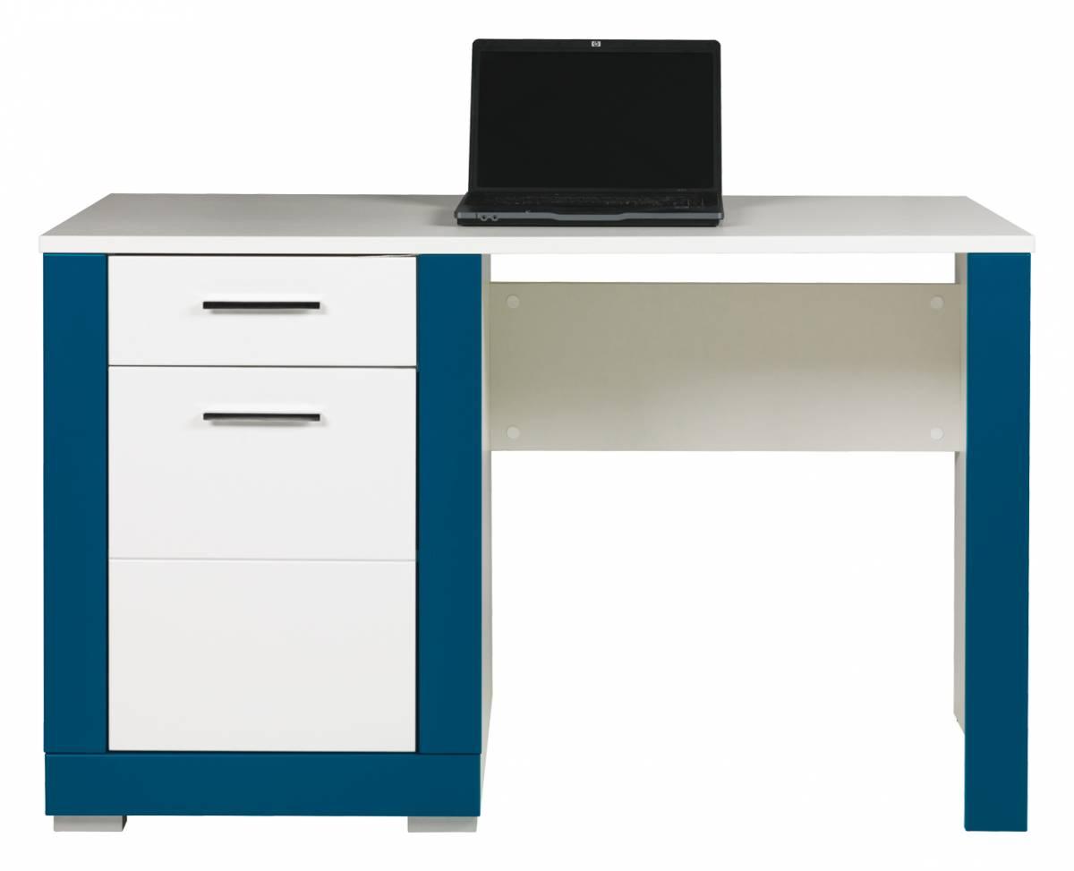 PC stolík Twin TW 12 (tyrkysová + biela matná)