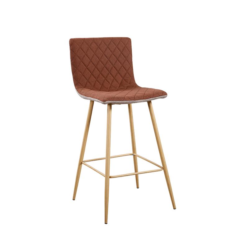 TEMPO KONDELA Barová stolička, svetlohnedá/hnedá/buk, TORANA