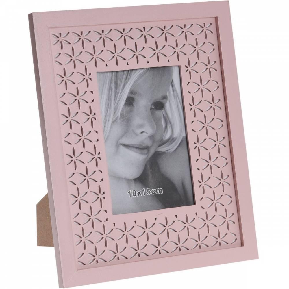 Fotorámček Trento ružová, 26 x 21 cm